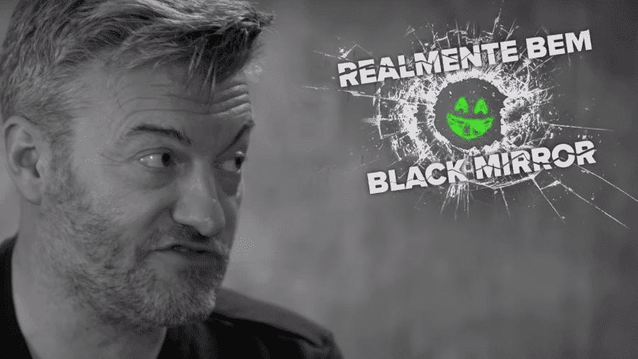 """Charlie Brooker avalia o que é """"realmente bem Black Mirror"""" em vídeo da Netflix - Reprodução/YouTube"""