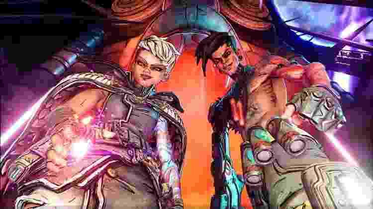 Gêmeos Calypso são os vilões (sem graça) do game - Reprodução