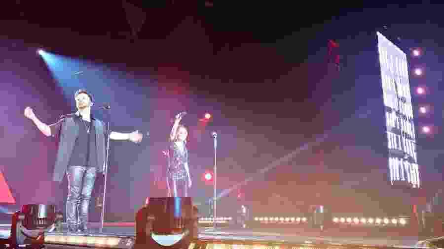 Sandy e Junior em show em Lisboa - UOL