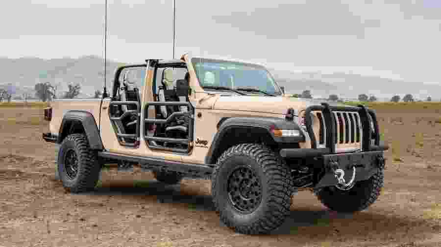 Jeep Gladiator XMT - Divulgação
