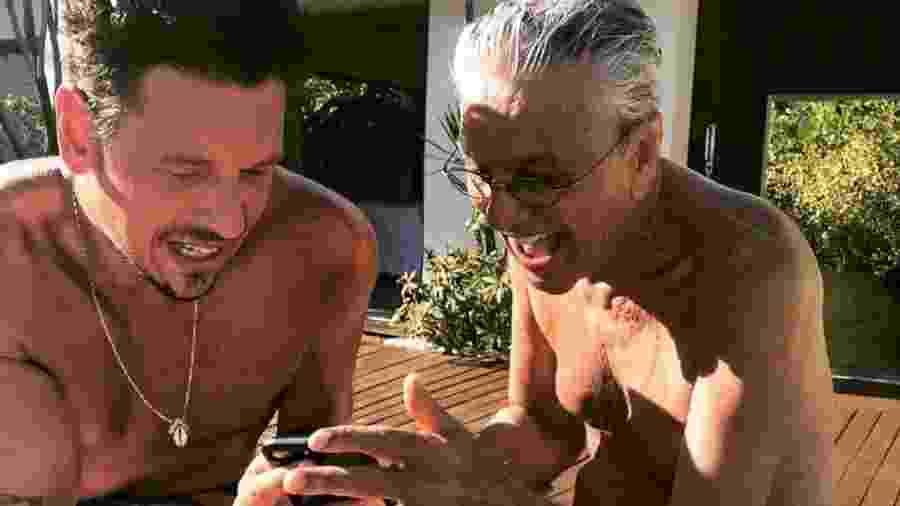 João Vicente de Castro e Caetano Veloso compartilham momento juntos - Reprodução/ Instagram