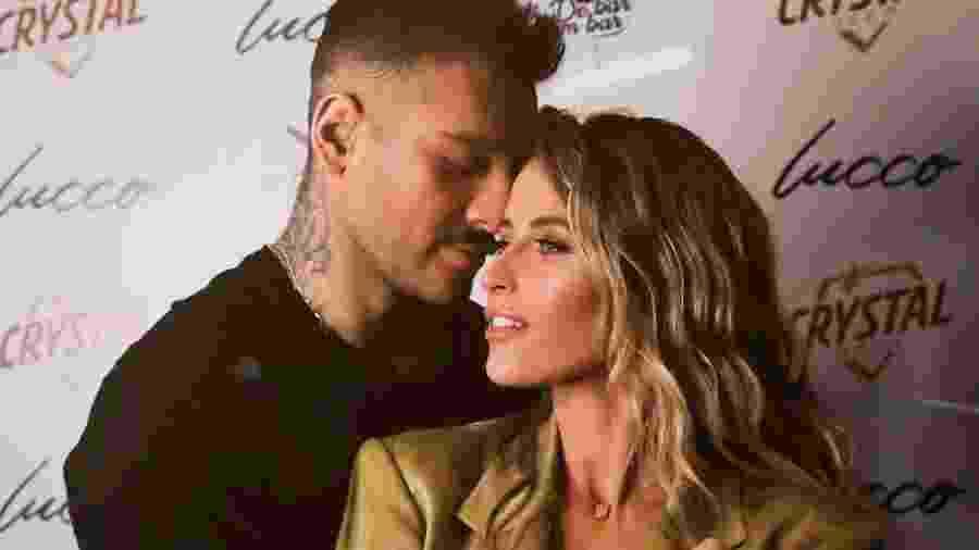 Lucas Lucco e sua noiva Lorena Carvalho - Reprodução/Instagram