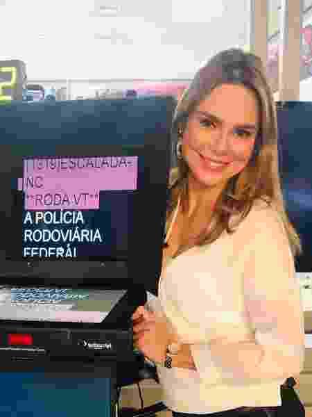 A jornalista Rachel Sheherazade - Divulgação