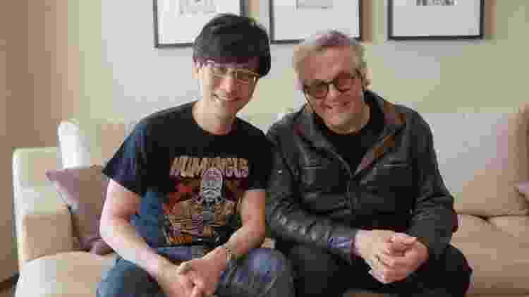 Kojima e o diretor de Mad Max, George Miller – bem apadrinhado já está - Reprodução