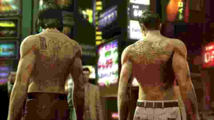 O design das tatuagens no jogo foi feito por um artista da vida real chamado Horitomo - Divulgação