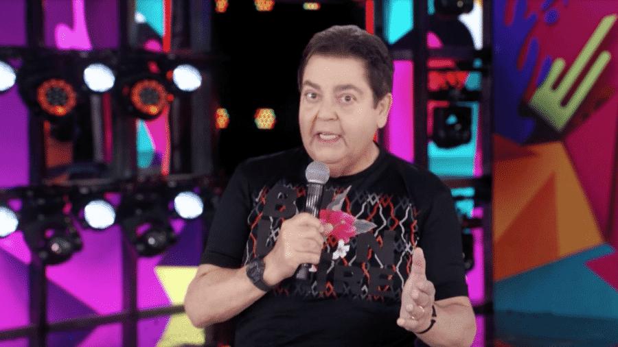 CHROMA KEY: Faustão gravou trechos inéditos para o programa mais recente - reprodução/Globo