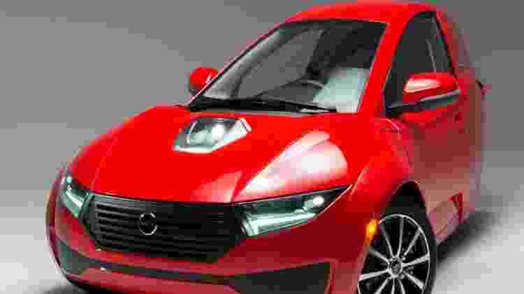 Solo carro elétrico Electrameccanica dianteira - Divulgação - Divulgação
