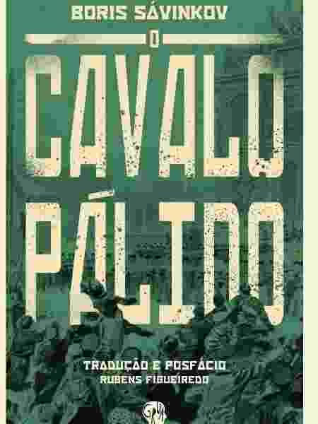 """Capa de """"O Cavalo Pálido"""" - Divulgação. - Divulgação."""