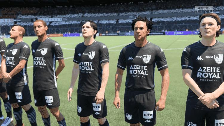 FIFA 21 Botafogo - Reprodução/START - Reprodução/START