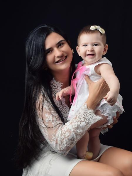 Jorgeane Andrade e Joane: pré-natal integral na rede pública do Ceará - Arquivo pessoal
