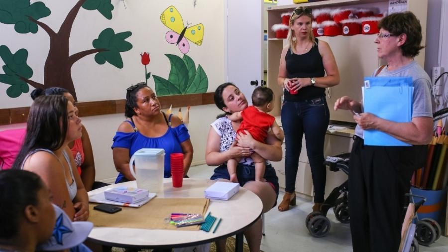 Grupo participa do Estudo Piá - Primeira Infância Acolhida, em Pelotas (RS) - Michel Corvelo