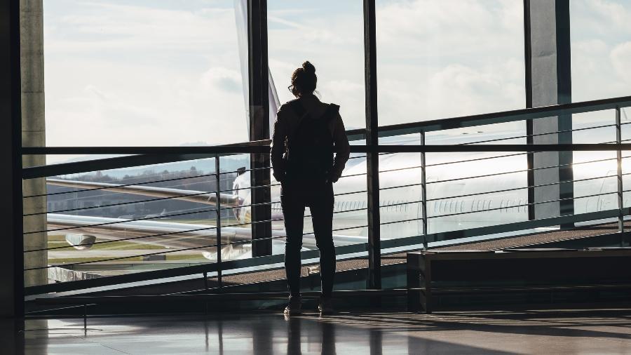 Aeroportos ficaram mais vazios por causa da pandemia - Beli Photos/Getty Images/iStockphoto