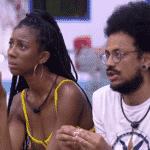 BBB 21: Camilla e João falam sobre saída de Karol Conká - Reprodução/Globoplay