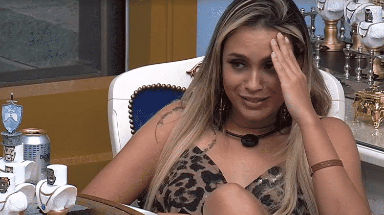 BBB 21: Sarah no reality - Reprodução/Globoplay - Reprodução/Globoplay