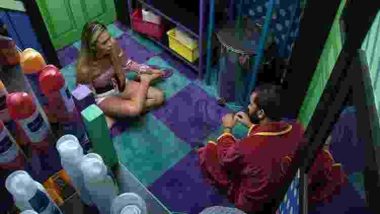 BBB 21: Sarah fala mal de Juliette - Reprodução/Globoplay - Reprodução/Globoplay