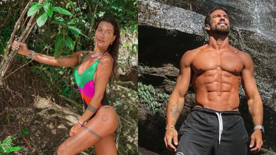 Gabriela Pugliesi e Erasmo Viana - Reprodução/Instagram