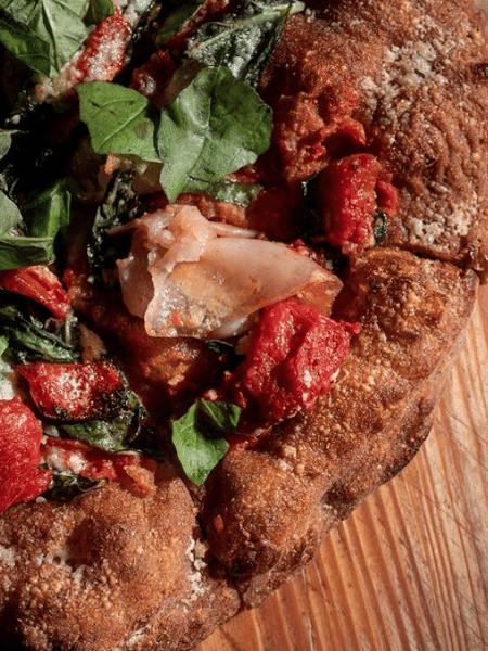 A pizza vencedora da I Masanielli, em Caserta, no sul da Itália - Reprodução/Instagram