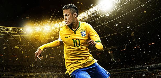 """Neymar estrela a capa do """"PES"""" - e os times brasileiros protagonizam algumas bizarrices - Divulgação"""