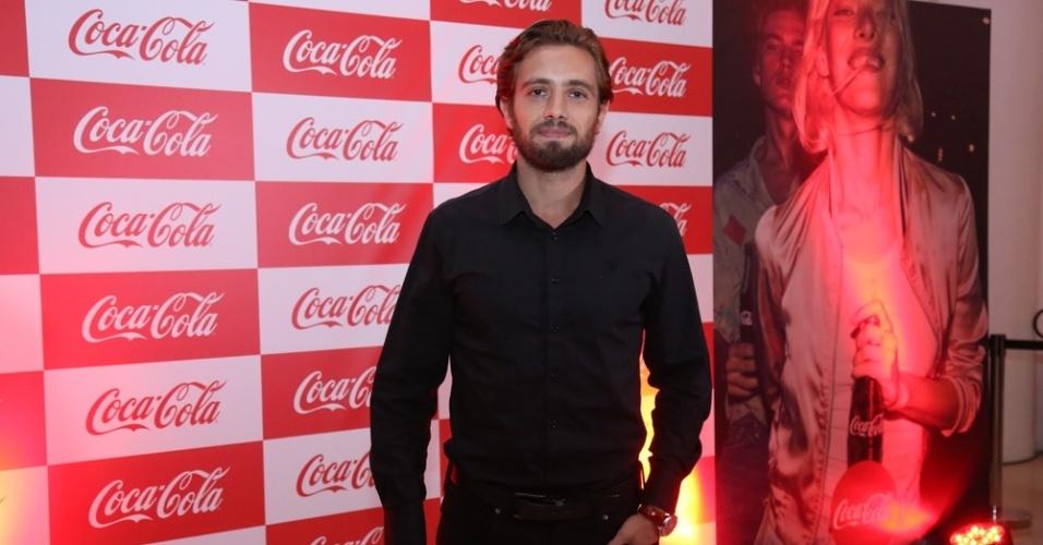19.jan.2015 - O ator Rafael Cardoso durante evento no Rio