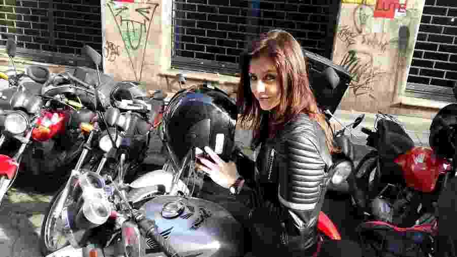 Christiana Ubach na série Garota da Moto - Divulgação