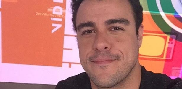 """Joaquim Lopes no na bancada do """"Vídeo Show"""" - Reprodução/Instagram/lopesjoca"""