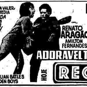 """De 1967, """"Adorável Trapalhão"""" tem Renato Aragão, Amilton Fernandes e Neide Aparecida - Divulgação"""