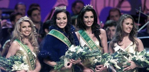 Grazi Massafera ficou em terceiro lugar no Miss Brasil 2004 - Jos Patrcio