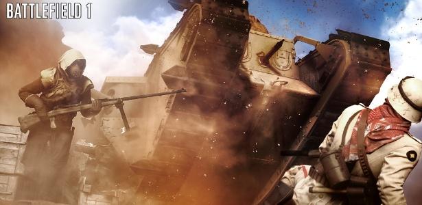 """""""Battlefield 1"""" leva série de tiro para a Primeira Guerra Mundial - Divulgação"""