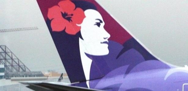 Dois homens registraram a reclamação contra a Hawaiian Airlines alegando que pesar passageiros no check-in é uma medida discriminatória - AFP