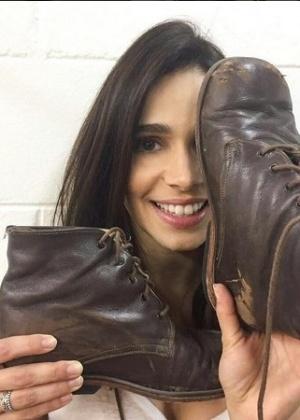 Sabrina Petraglia diz que irá precisar procurar terapia após se despedir de Shirlei e suas botinhas ortopédicas  - Reprodução/Instagrama/@sabrinapetraglia