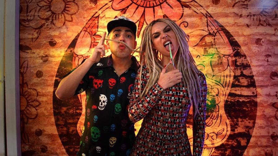 """Lucas Selfie e Fernanda Lacerda, a Mendigata, que atuaram no """"Pânico na Band"""" - Divulgação"""
