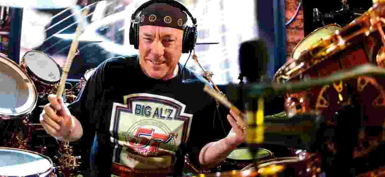 Neil Peart, baterista de quase todos os discos do Rush - exceto o primeiro - Divulgação