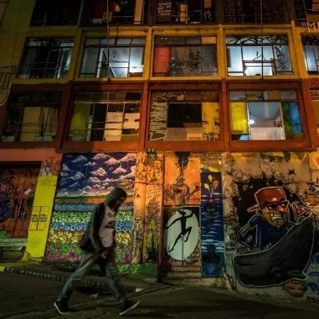 Prédio ocupado em São Paulo vira espaço cultural - AFP/ NELSON ALMEIDA