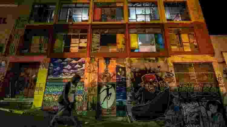 Prédio ocupado em São Paulo vira espaço cultural - Nelson Almeida/AFP - Nelson Almeida/AFP