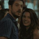 """Ritinha e Zeca aproveitam a noitada juntos em """"A Força do Querer"""" - Reprodução/TV Globo"""