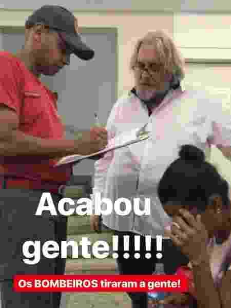 Leão Lobo é resgatado de elevador - Reprodução/Instagram/leaolobotv - Reprodução/Instagram/leaolobotv