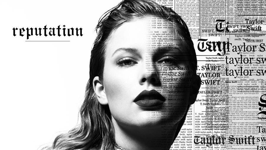 """Taylor na capa do álbum """"Reputation"""" - Reprodução"""