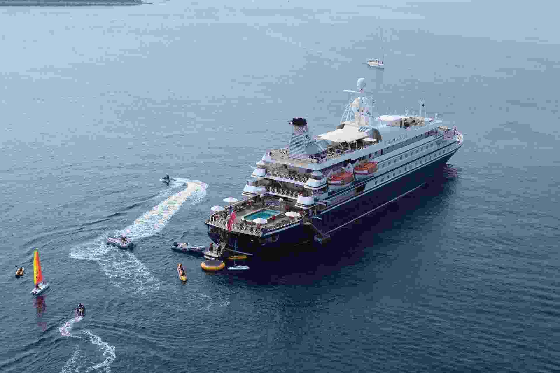 Navio de cruzeiro da empresa SeaDream - Divulgação/Pier 1 Cruise Experts