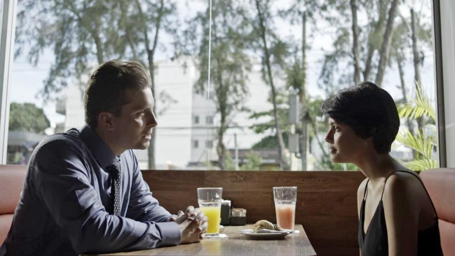 Patrick e Adriana se encontram e ela revela que sente algo a mais pelo chefe - Reprodução/GShow/O Outro Lado do Paraíso