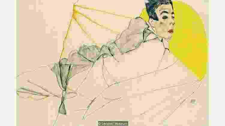 Interesse de Schiele em pintar jovens chocou público da época e chamou atenção das autoridades - Leopold Museum  - Leopold Museum