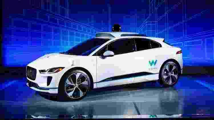 Waymo / Jaguar Autonomous I-Pace - Divulgação - Divulgação