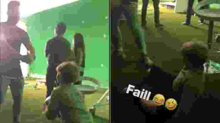 """David Lucca brinca com """"parça"""" do pai, Neymar - Reprodução/Instagram - Reprodução/Instagram"""