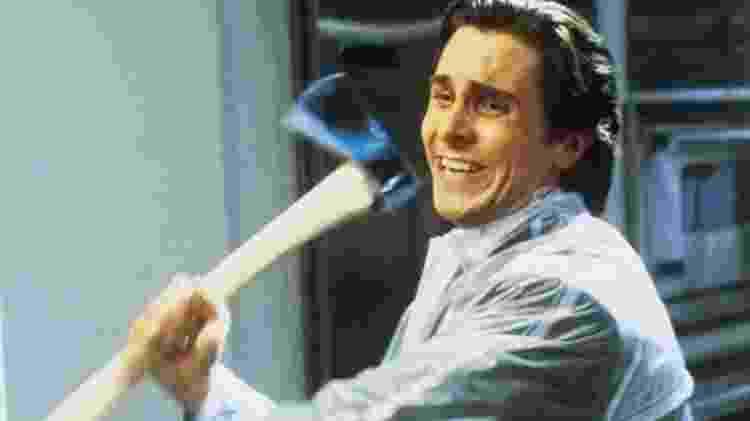 """Christian Bale em cena de """"Psicopata Americano"""" - Divulgação - Divulgação"""