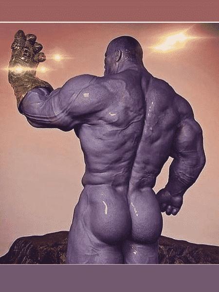 Nude de Thanos - Reprodução/Reddit - Reprodução/Reddit