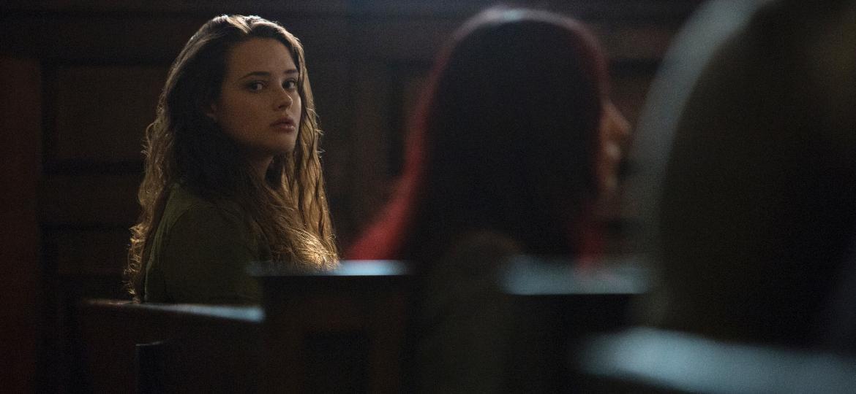 "Hannah (Katherine Langford) em cena da segunda temporada de ""13 Reasons Why"" - Beth Dubber/Netflix"