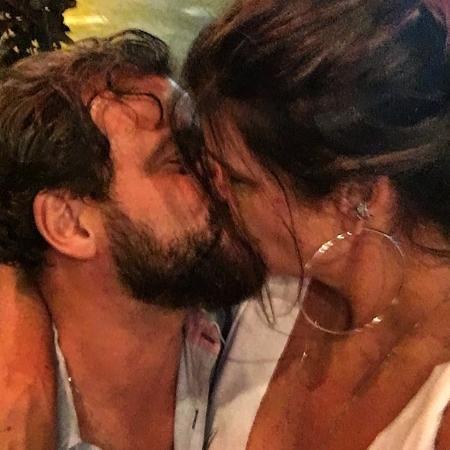 Cristiana Oliveira com o namorado - Reprodução/Instagram