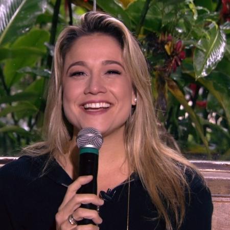 Fernanda Gentil - Reprodução/Globo