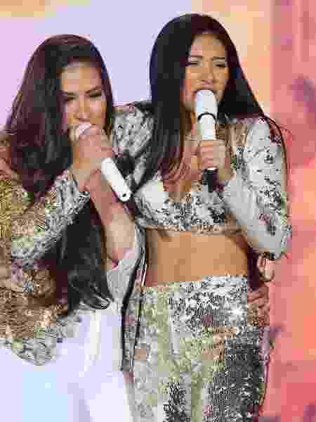 Simone e Simaria na  63ª Festa do Peão de Boiadeiro de Barretos, antes de pausarem os shows novamente - Manuela Scarpa/Brazil News