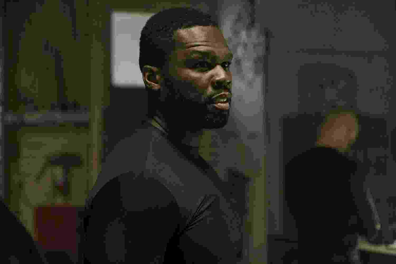 """50 Cent em cena de """"Covil de Ladrões"""" (2018) - Divulgação"""