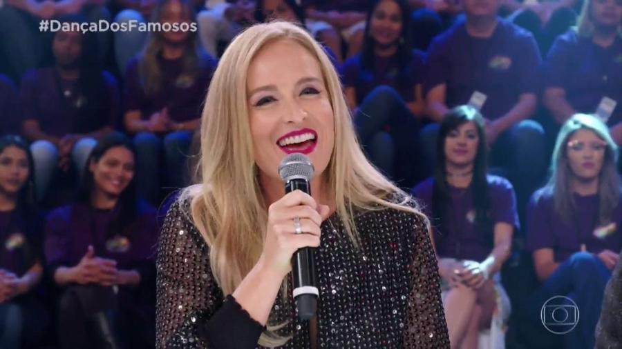 """Angélica como jurada da """"Dança dos Famosos"""" - Reprodução/TV Globo"""